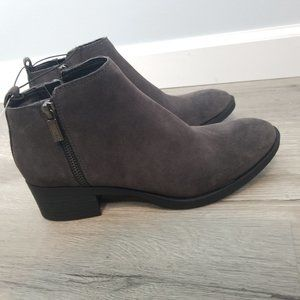 Kenneth Cole 6.5 gray Dara booties 6.5